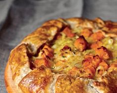 Vegetarain Butternut Squash and Caramelized Onion Galette by Deb Perelman, of The Smitten Kitchen. The ideal Autumn dinner.