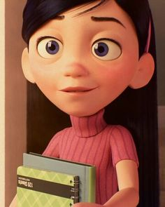 Violet Parr is a major character in the 2004 Disney Film Disney, Disney Wiki, Disney And Dreamworks, Disney Movies, Disney Pixar, Disney Incredibles, Heros Disney, Violet Parr, Cartoon Icons