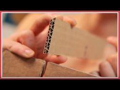 Meubles en carton Chapitre n°10: Encoches / Poutres - Combien? - YouTube