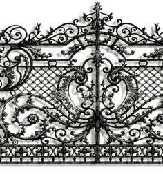 Кованые ворота - эскиз. #ковка #кузня #художественнаяковка #кованыеворота #ковка #кованые #дизайн #alexandrsylvester