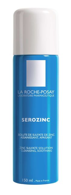 La Roche Posay Serozinc - I import this from France, lovely soothing toner I spray onto my face post-cleanse every evening.