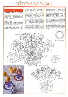 Thread Crochet, Crochet Stitches, Crochet Patterns, Crochet Dollies, Easter Crochet, Crochet Alphabet, Decoration Table, Doilies, Crochet Projects