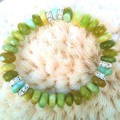 I love green!  Especially peruvian opal!