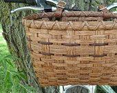 Bicycle Basket - Golden Oak. $44.00, via Etsy.