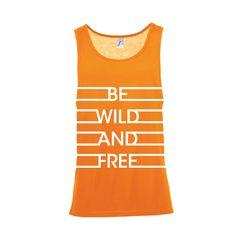Bevrijdingsdag | Dames loose fit top Wild & Free (801223)