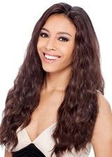 Glitzy Extra Long Wavy 130% Density Lace Front Wig