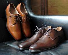 "B.R. ""Shaw"" Italian Leather Lace-Up | Dappered.com"