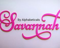 baby name sign wooden letters for nursery girl boy wall letters