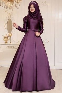 58 Ideas Fashion Style For Teens Classy Ball Gowns Gown Party Wear, Hijab Dress Party, Muslimah Wedding Dress, Muslim Wedding Dresses, Wedding Hijab Styles, Hijab Evening Dress, Evening Dresses, Stylish Dresses, Fashion Dresses
