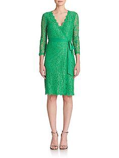 a9a5eccc8d9a Diane von Furstenberg - Julianna Lace Wrap Dress