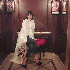 Palmer Harding, Eva Chen, Jack Nicholson, Attitude, Normcore, High Neck Dress, Instagram Posts, How To Wear, Shirts