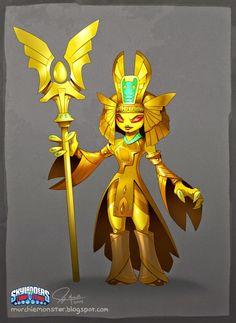 The Golden Queen Concept   The Art of Jeff Murchie