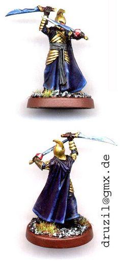 elf w 2 swords
