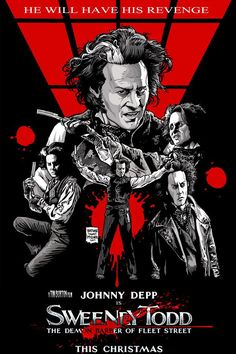 Sweeney Todd by Nathan Thomas Milliner