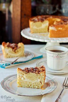 Cream cheese coffee cake. I love me some coffee cake, and OMG do I love cream cheese. Will have to buy a tube pan before I can make this.