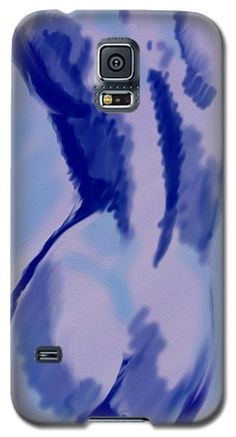 Galaxy S5 Case featuring the digital art Blue For You by Vincent Franco