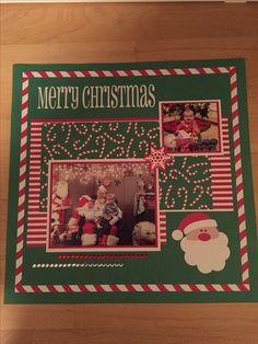 Christmas - Scrapbook.com #scrapbooklayouts #scrapbooking101