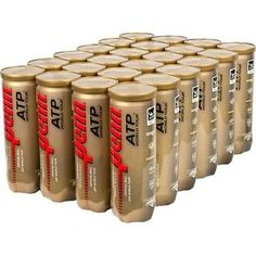 Balls 20870: 1 Case Penn® Atp World Tour Extra Duty Tennis Balls 72 Balls (24 Cans) 521290 BUY IT NOW ONLY: $92.95
