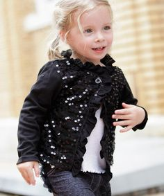 61% OFF Silvian Heach Girl's Sequin Cardigan (Cream) | Kids Girls ...