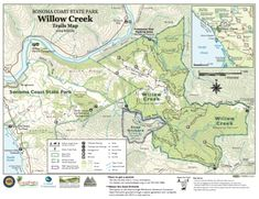 Willow Creek Trail in Sonoma County