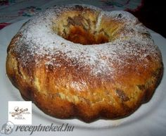 Érdekel a receptje? Ring Cake, Hungarian Recipes, Bagel, Scones, Food To Make, Cooking Recipes, Bread, Cookies, Pound Cakes