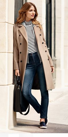 Caroll France - Soft colour beautiful and elegant coat, French style