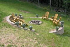 landscape ideas for a hilly yard - Google Search