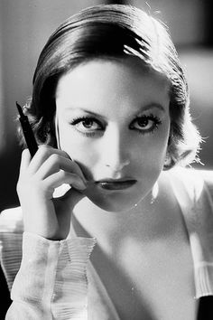 Joan Crawford in a promotional still for Grand Hotel, 1932.