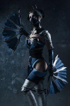 Kitana cosplay from Mortal Kombat X by KitanaStore on Etsy