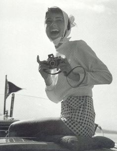This is one of the cutest pictures of Audrey I have ever seen!