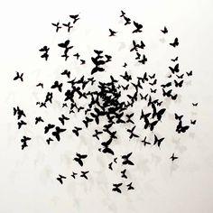 butterfly wall art.