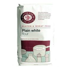 Doves Farm Plain White Flour - Gluten Free - 1kg - Doves Farm