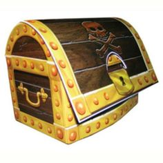 Pirate Party Supplies Australia Treasure Chest Table Centrepiece | eBay