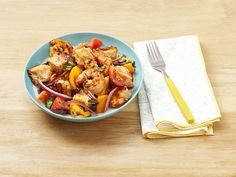 Make Grilled Shrimp Panzanella in 35 Minutesthepioneerwoman Grilling Recipes, Cooking Recipes, Large Shrimp, Pickled Red Onions, Grilled Shrimp, Makati, Shrimp Recipes, Fish And Seafood