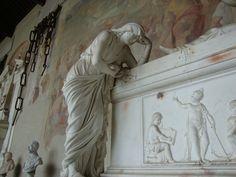 monument statue cemetary pisa