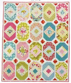 Hanky Panky Fabulous Pieced Modern Quilt Pattern