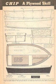 Boat Plans - Chip - Master Boat Builder with 31 Years of Experience Finally Releases Archive Of 518 Illustrated, Step-By-Step Boat Plans Plywood Boat Plans, Wooden Boat Plans, Wooden Boat Building, Boat Building Plans, Kayaks, Harley Davidson, Duck Boat Blind, Build Your Own Boat, Boat Kits