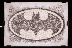 -Roses for Batman-   [2010, 2600 x 1800mm Japanese ink and silkscreen on Japanese rice paper]  NOT FOR SALE Please check → http://bit.ly/ymvSXz