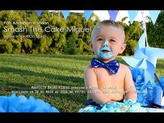 Smash the Cake Miguel - YouTube