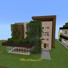 Minecraft minecraftpe gamer builder games mcpe for Mirote y blancana casa moderna