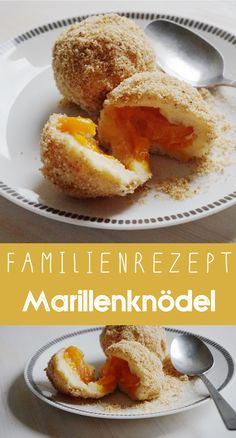 Marillenknödel - ein traditionelles Rezept für die ganze Familie. Modern interpretiert mit Kokosblütenzucker und Mandeln!