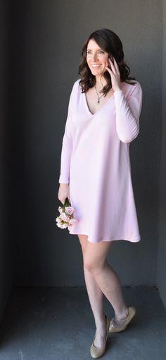 Blush Swing Dress Tutorial by Bunny Baubles Blog 5