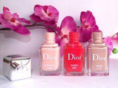 Dior Nail Polish - Grège, Riviera, Sunkissed