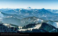 Foto 'Blick vom Unterberg auf den Ötscher' von Weinviertler Lichtbildnerei. Berg, Stock Foto, Mount Everest, Mountains, Nature, Travel, Pictures, Winter Vacations, Mountain Range