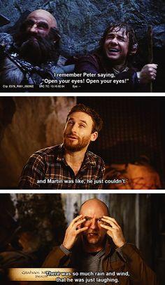 Hahaha Dean is so funny XD