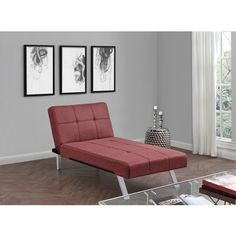 DHP Layton Marsala Linen Chaise (60.270 HUF) ❤ liked on Polyvore featuring home, furniture, chairs, accent chairs, linen chaise, linen chair and linen furniture