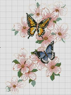 Fénykép a közösség üzenőfalán – fénykép Butterfly Cross Stitch, Just Cross Stitch, Cross Stitch Rose, Cross Stitch Borders, Cross Stitch Animals, Modern Cross Stitch, Cross Stitch Flowers, Cross Stitch Designs, Cross Stitching