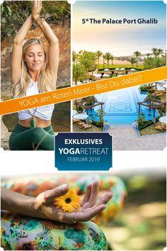 Yoga Retreat - Yoga Retreat am Roten Meer Yoga am Meer. Ein Yoga-Urlaub am Roten Meer in Ägypten. Yoga Retreat - Zeit für dich Entspannung pur in der Oase der Ruhe. Yoga ist die Quelle des inneren Friedens! In einem TOP 5* Hotel am Roten Meer. RED SEA HOTEL 5* The Palace Port Ghalib. Traumurlaub. Yoga Urlaub. #yoga #retreat #oase #redsea #meer #urlaub Yoga Retreat, Am Meer, Red Sea, Beautiful Hotels, Canary Islands, Greece