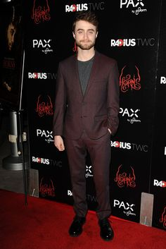 Pin for Later: Can't-Miss Celebrity Pics!  Daniel Radcliffe hit the red carpet at the premiere of Horns in LA on Thursday.