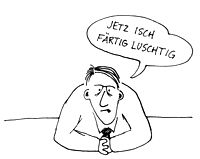 """Kei Ässe im Bus!"" New post for #OgilvyGrads, the joys of a third language..."